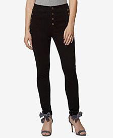 Avec Les Filles High-Waisted Sailor Skinny Jeans