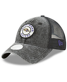 New Era Women's Baltimore Ravens Perfect Patch 9TWENTY Snapback Cap