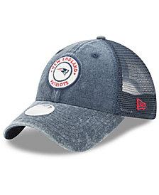 New Era Women's New England Patriots Perfect Patch 9TWENTY Snapback Cap