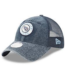 New Era Women's Tennessee Titans Perfect Patch 9TWENTY Snapback Cap
