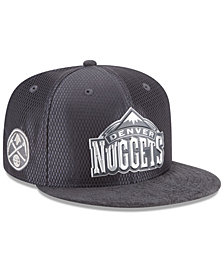 check out 5ade4 8cf9a New Era Denver Nuggets On-Court Graphite Collection 9FIFTY Snapback Cap