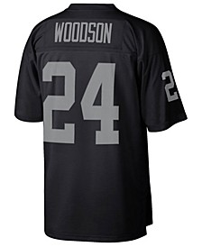 Men's Charles Woodson Oakland Raiders Replica Throwback Jersey