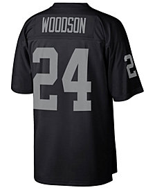 Mitchell & Ness Men's Charles Woodson Oakland Raiders Replica Throwback Jersey