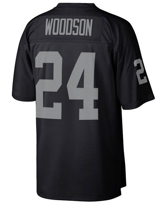 Mitchell & Ness Men's Charles Woodson Las Vegas Raiders Replica ...