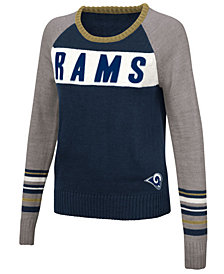 Touch By Alyssa Milano Women's Los Angeles Rams Team Spirit Sweater