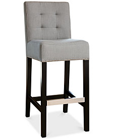 Avanti Linen Bar Stool, Quick Ship