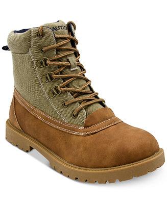 Nautica Men's Alameda Lace-Up Boots