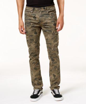 Camo Cargo Pants Men VfWhZP1N