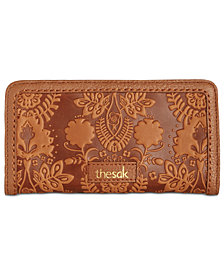 The Sak Iris Embossed Slim Wallet