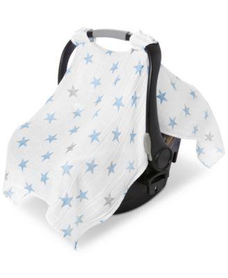 ... aden by aden + anais Baby Boys Cotton Dapper Printed Car Seat Canopy ...  sc 1 st  Macyu0027s & aden by aden + anais Baby Boys Cotton Dapper Printed Car Seat Canopy ...