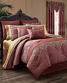 J Queen New York Ellington Red Bedding Collection