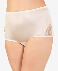 Vanity Fair Perfectly Yours® Lace Nouveau Nylon Brief 13001, also available in extended sizes