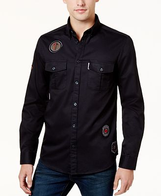 Ben Sherman Men's Patch Shirt