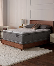 "Serta Masterpiece George 15.75"" Luxury Firm Euro Pillow Top Mattress Collection, Created for Macy's"