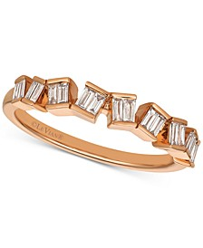 Baguette Frenzy™ Diamond Baguette Ring (1/4 ct. t.w.) in 14k Rose Gold