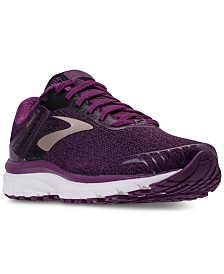 Brooks Women S Adrenaline Gts 18 Running Sneakers From Finish Line