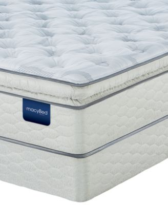 macybed lakemere super pillowtop plush mattress set king