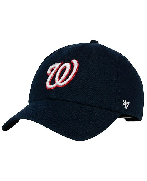 '47 Brand Washington Nationals Cooperstown CLEAN UP Cap