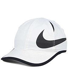 Nike Girls' Featherlight Swoosh Cap