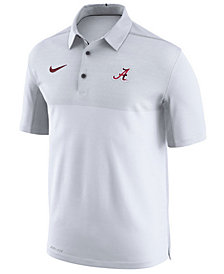 Nike Men's Alabama Crimson Tide Elite Coaches Polo