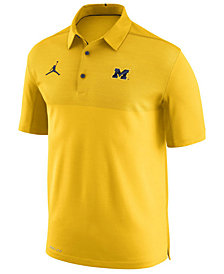 Nike Men's Michigan Wolverines Elite Coaches Polo
