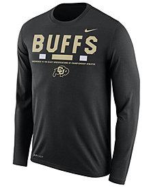 Nike Men's Colorado Buffaloes Legend Sideline Long Sleeve T-Shirt