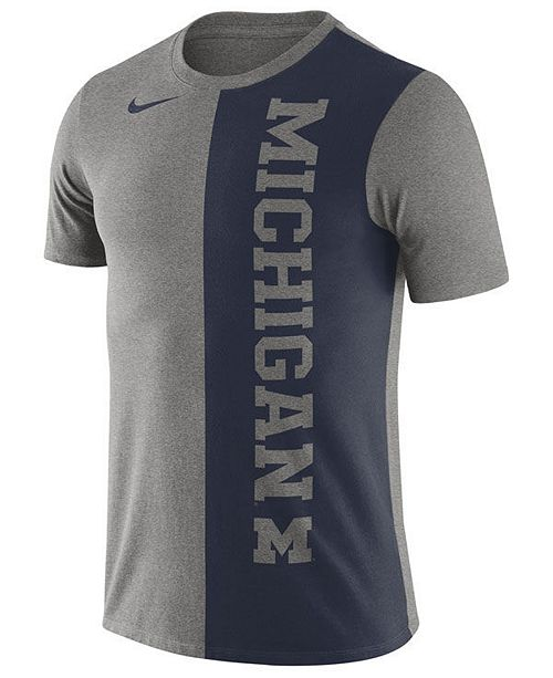 Nike Men's Michigan Wolverines Coin Flip T-Shirt