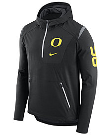 Nike Men's Oregon Ducks Alpha Fly Rush Quarter-Zip Hoodie