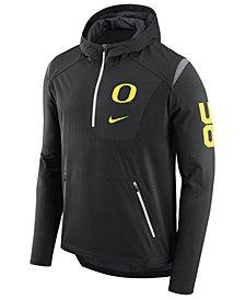 Nike Men's Oregon Ducks Alpha Fly Rush Quarter-Zip Hoodie