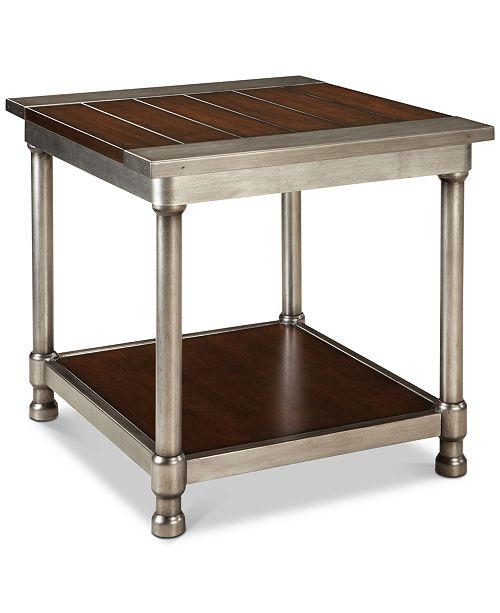 Furniture Indera End Table, Quick Ship