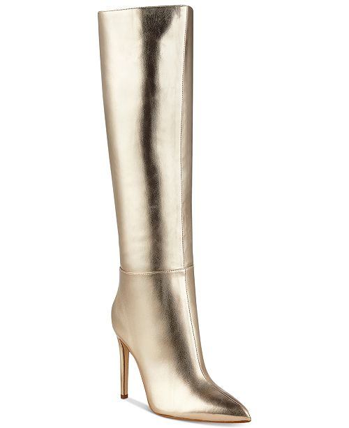 GUESS Women's Lilly Stiletto Dress Boots