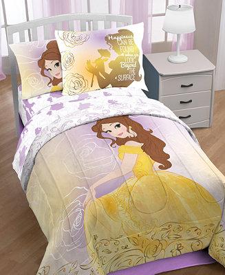 Disney Beauty Amp The Beast Quot Belle En Rose Quot 7 Pc Comforter