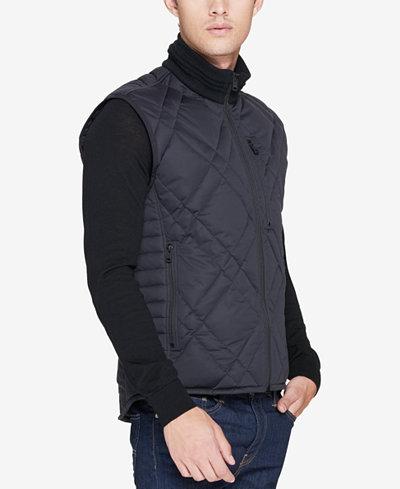 Andrew Marc Men's Eden Quilted Full-Zip Vest