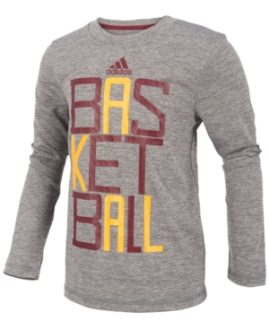 adidas Basketball GraphicPrint Shirt Little Boys (47)