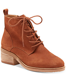 Lucky Brand Tamela Lace-Up Booties