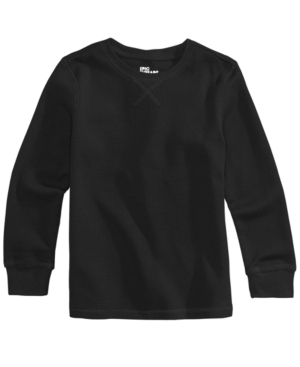 Epic Threads Solid Thermal Shirt Little Boys (47) Created for Macys