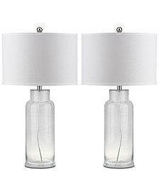 Bottle Set of 2 Table Lamps