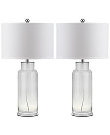 Safavieh Bottle Set of 2 Table Lamps