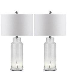 Safavieh Bottle Set of 2 Table Lamps