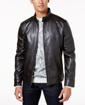 Tasso Elba Men's Faux-Leather...