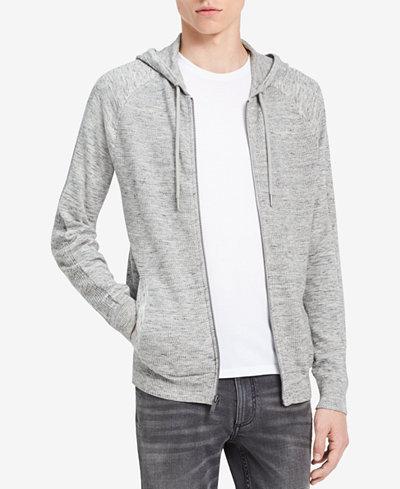 Calvin Klein Jeans Men's Textured Hoodie