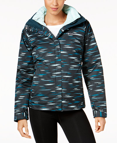 Columbia Printed Outer West™ Interchange Insulated Puffer Coat