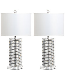 Safavieh Skagway Set of 2 Table Lamps