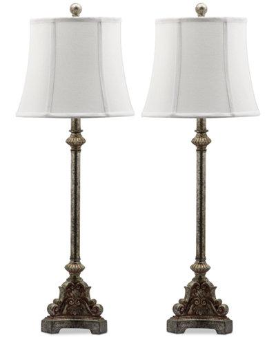 Safavieh rimini set of 2 table lamps lighting lamps for the safavieh rimini set of 2 table lamps audiocablefo