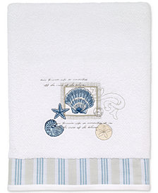 Avanti Island View Cotton Embroidered Bath Towel