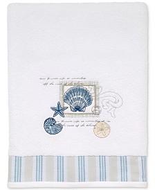 Avanti Island View Cotton Embroidered Bath Towel