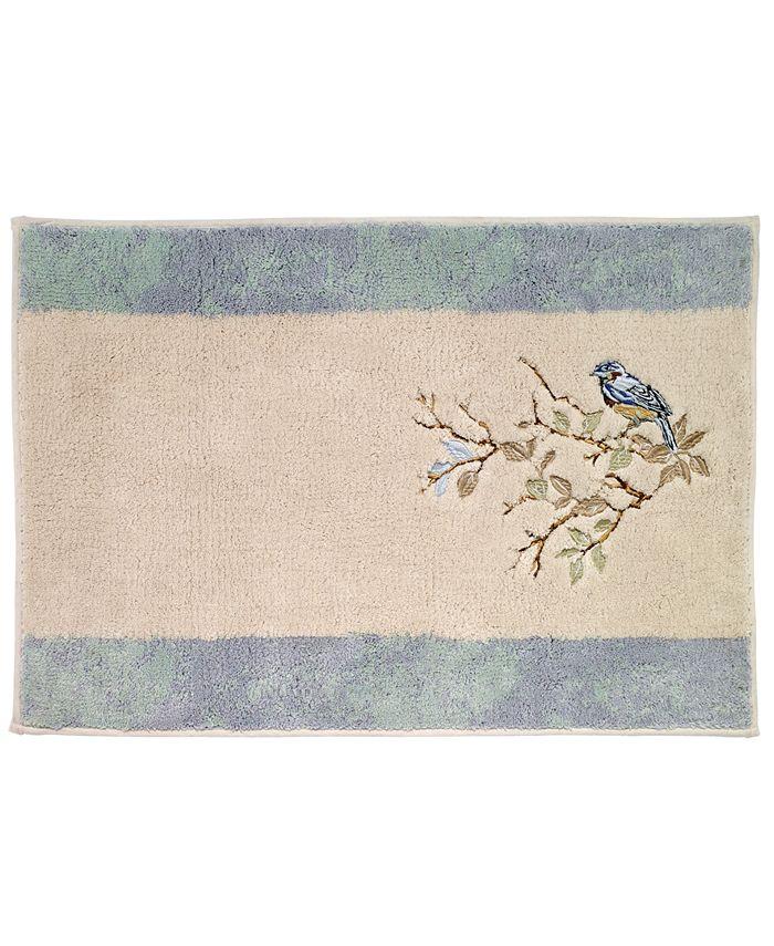 Avanti - Love Nest Cotton Embroidered Bath Rug