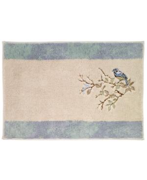 Avanti Love Nest Cotton Embroidered Bath Rug Bedding