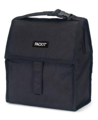 Black Freezable Lunch Bag