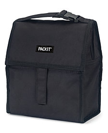 Pack It Black Freezable Lunch Bag